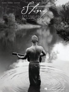 Sting - The Best Of 25 Years - piano, vocal, guitar