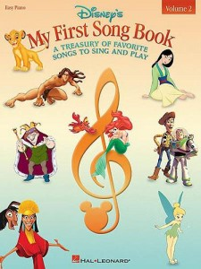 Disney's My First Song Book - Vol. 2