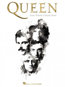 Queen: Easy Piano Collection  - łatwe nuty na fortepian