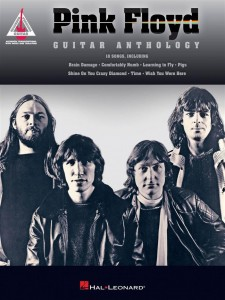Pink Floyd - Guitar Anthology  - nuty i tabulatury na gitarę - seria Guitar Recorded Version