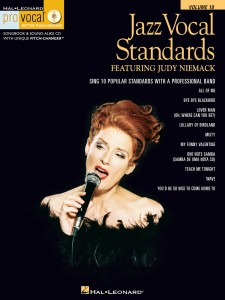 Jazz Vocal Standards - Judy Niemack - Pro Vocal (+ CD)