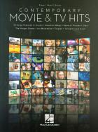 Contemporary Movie & TV Hits for piano, vocal, guitar