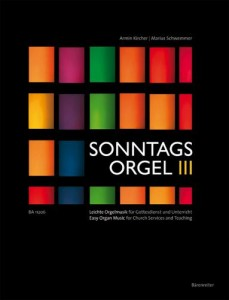 Sonntags Orgel III - proste utwory na organy