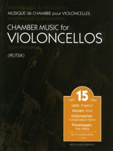 Chamber Music for Violoncellos vol. 15 Utwory na 4 wiolonczele