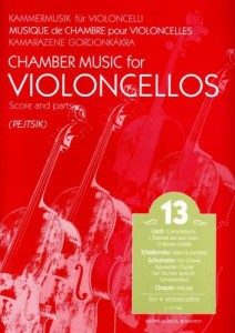 Chamber Music for Violoncellos vol. 13 Utwory na 4 wiolonczele