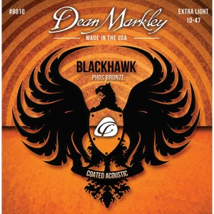 DEAN MARKLEY STRUNY DO GITARY AKUSTYCZNEJ BLACKHAWK PURE BRONZE 10-47