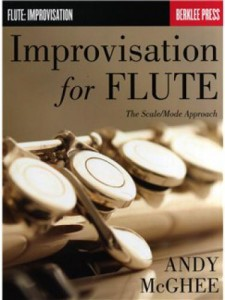 Improvisation for Flute - The Scale/Mode Approach podręcznik improwizacji na flet - Andy McGhee