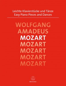 Wolfgang Amadeus Mozart - Easy Piano Pieces and Dances - Łatwe utwory na fortepian,