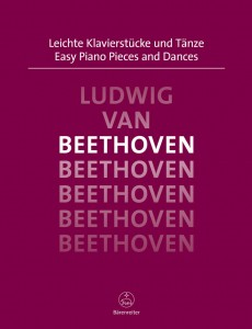 Ludwig van Beethoven - Easy Piano Pieces and Dances - Łatwe utwory na fortepian