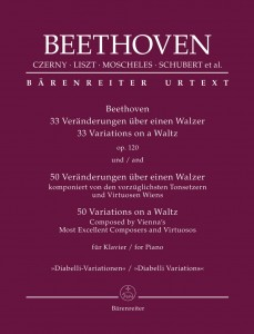 Diabelli Variations - Beethoven: 33 Variations on a Waltz op. 120 and 50 Variations on a Waltz Composed by Vienna's Most Excellent Composers and Virtuosos for Piano