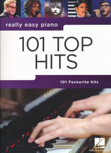 101 Top Hits - Really Easy Piano