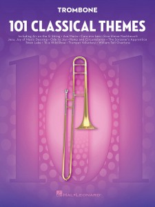 101 Classical Themes for Trombone - nuty na puzon