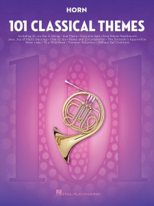 101 Classical Themes for Horn - nuty na róg (waltornia)