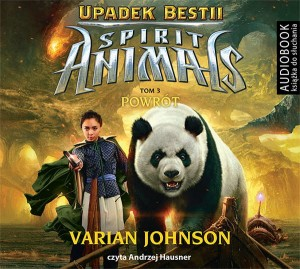 Spirit Animals. Upadek Bestii. Tom 3. Powrót - CD