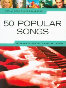 50 Popular Songs -  Really Easy Piano